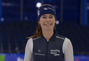 Dione, Sanneke en Michelle winnen teamsprint